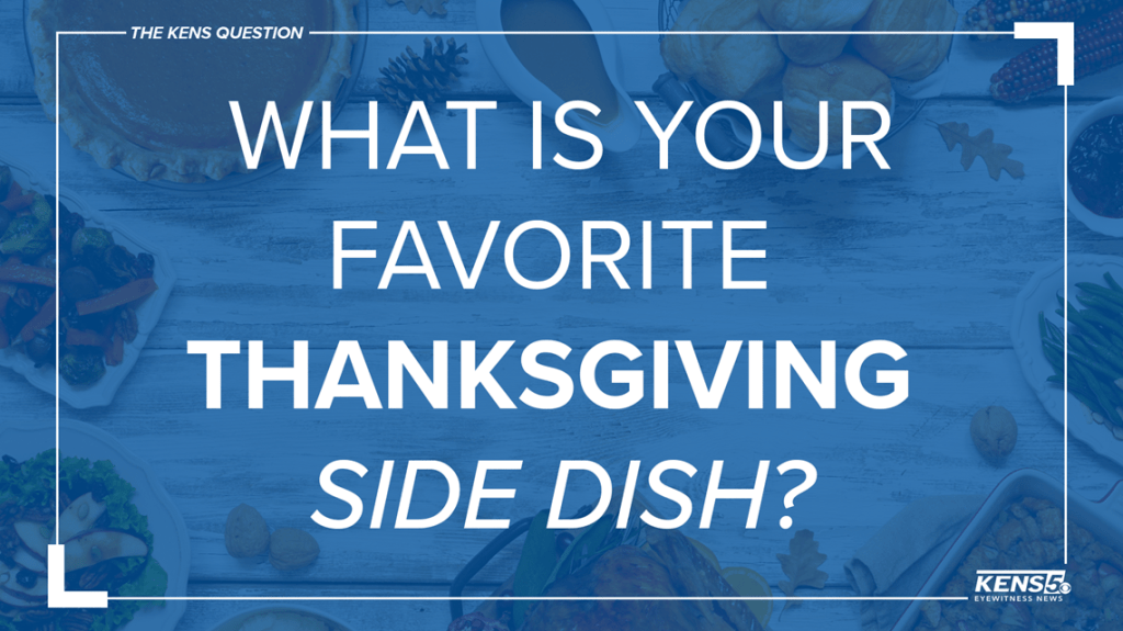 Thanksgiving in Texas: What's the most popular side-dish?