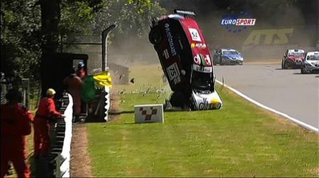 Dramatic Pictures Show Brands Hatch Crash Of Francisco