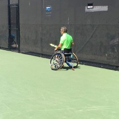 Wheelchair Quad Windsor Side Chair Tennis Players Compete In Salem Kgw Com London England July 14 Andy Lapthorne Of Great Britain R And David Wagner Usa Pose After Winning The Doubles Final At All