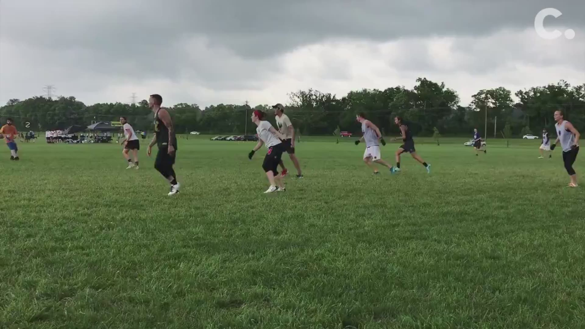 Facebook Post Claims Colombian Ultimate Frisbee Players