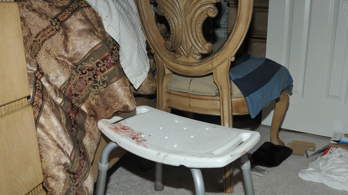 Photos Crime scene at the Melgar home  khoucom