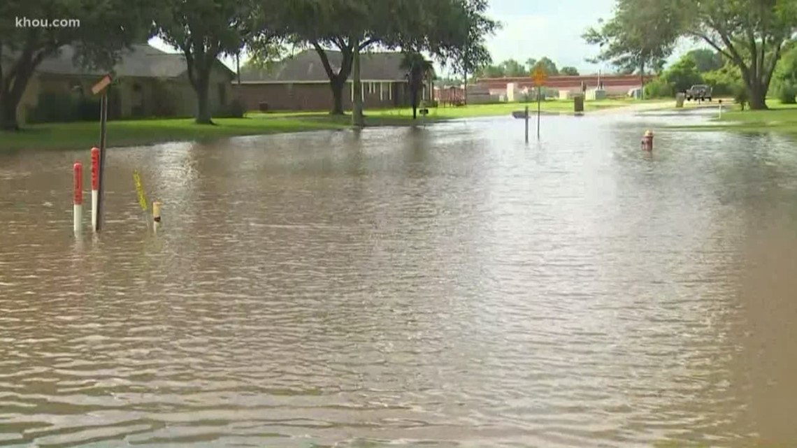 Area Houston Maps Hurricane Tx Flood Harvey
