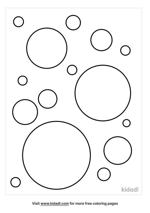 Circle Coloring Pages  Free Emojis, Shapes & Signs Coloring Pages