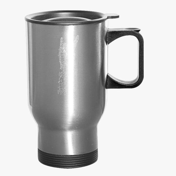 metal travel mug kidozi