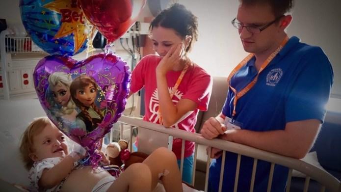 Mariana in the hospital