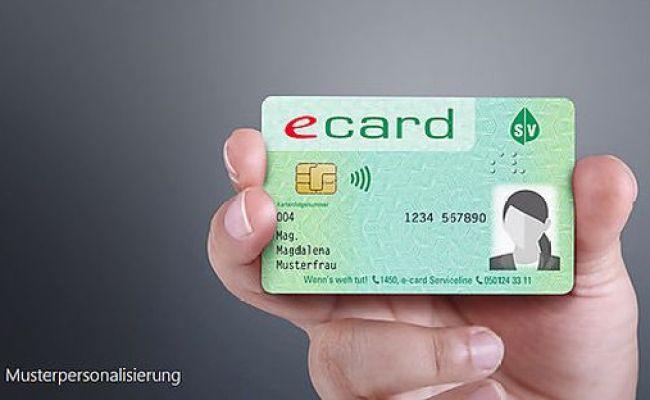 Ab Herbst 2019 Das Alles Kann Die Neue E Card Mit Foto