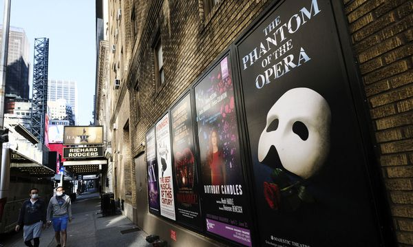 There won't be shows on Broadway again until May 30, 2021