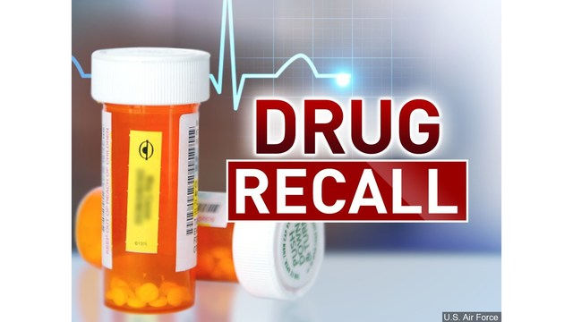 RECALL ALERT: A blood pressure medication is recalled