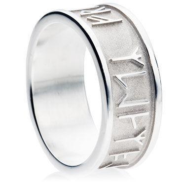 Keltische Runenringe und Hochzeitsringe mit Runen gnstig