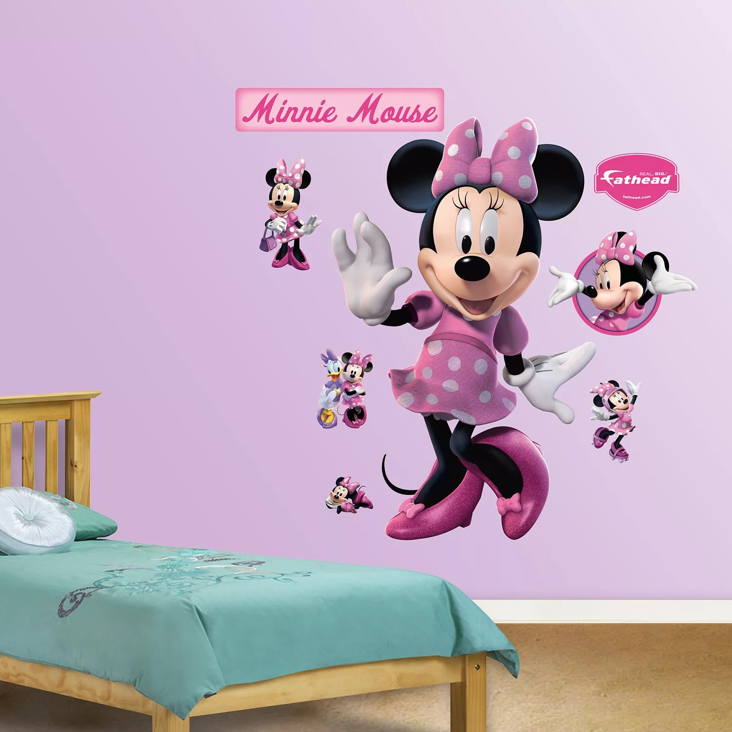 disney mickey mouse friends minnie mouse wall decals by fathead