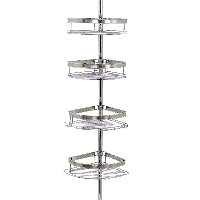 UPC 043197133892 Zenith 4 Tier Pole Shower Organizer