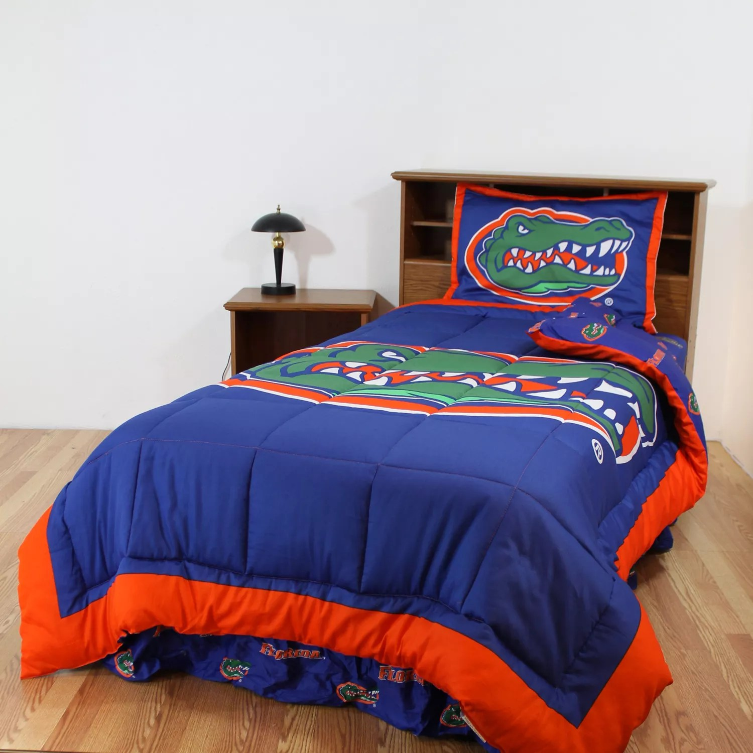 Florida Gators Reversible Comforter Set  Twin