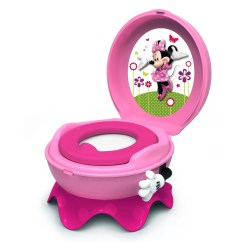 3 In 1 Potty Chair Suede Bean Bag Disney Mickey Mouse Friends Minnie System By The First Years