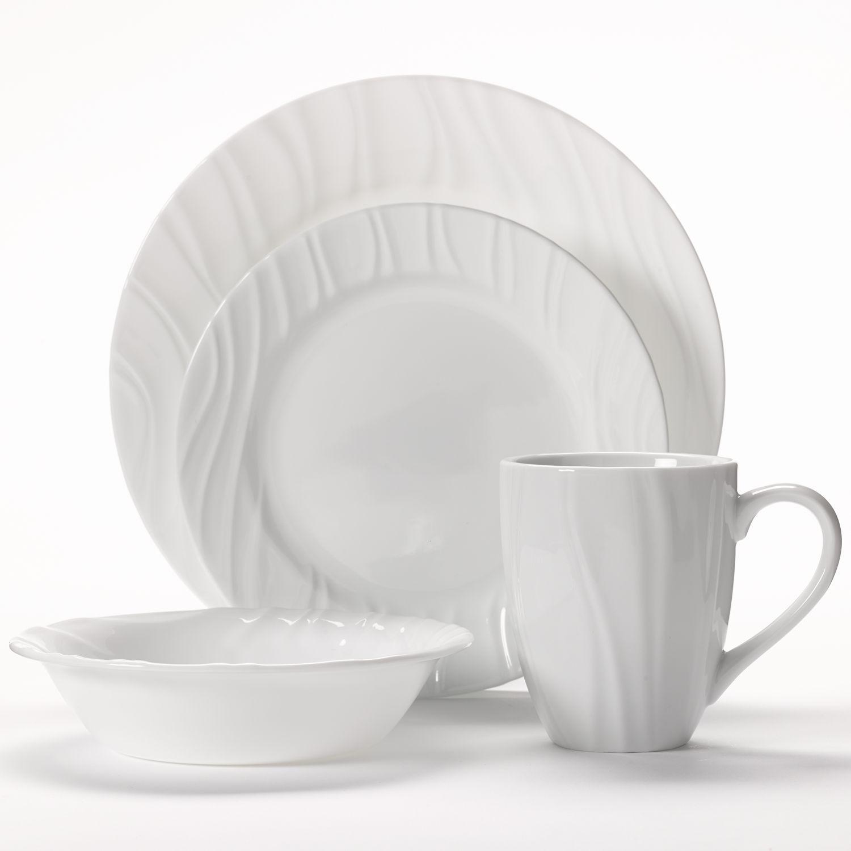 Corelle Swept 16pc Dinnerware Set