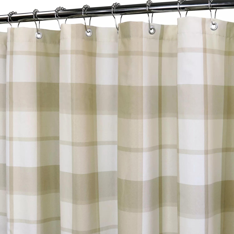 Yarn Dyed Shower Curtain