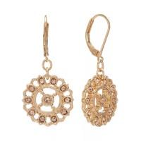 LC Lauren Conrad Openwork Drop Earrings