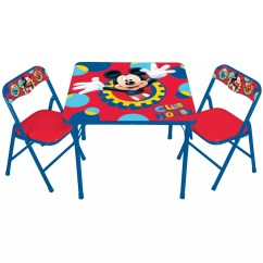 Kids Chair Set Bedroom Mustard Disney Mickey Mouse Friends Erasable Activity Table By Only