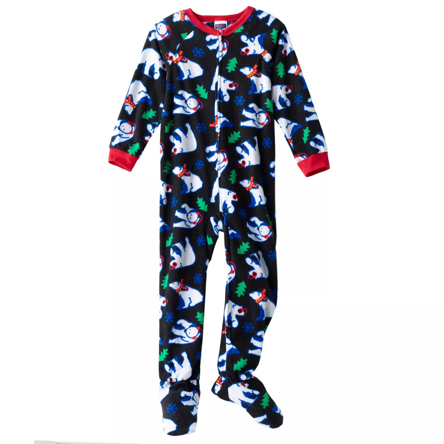Boys Fleece Footed Pajamas
