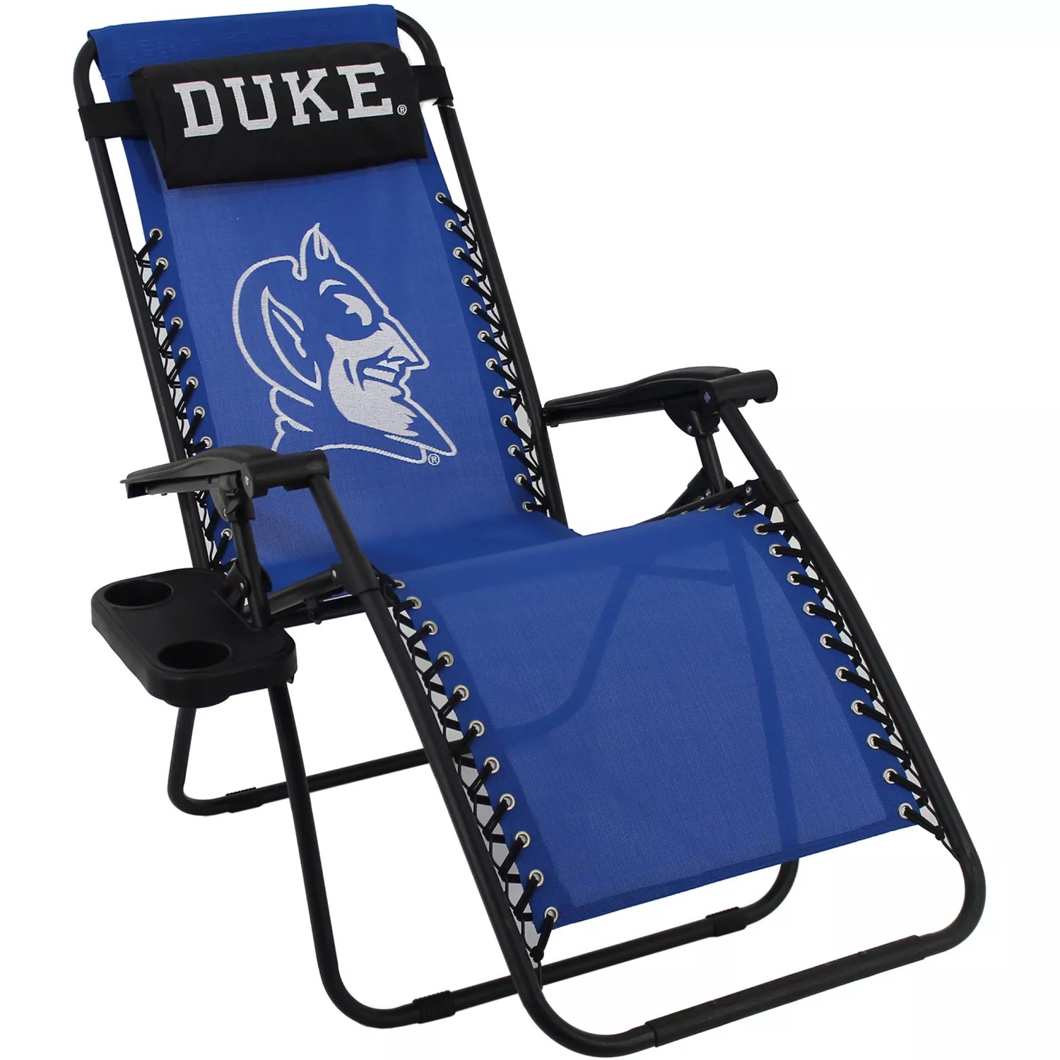 kohls zero gravity chair dining table cushion covers chairs kohl s college duke blue devils