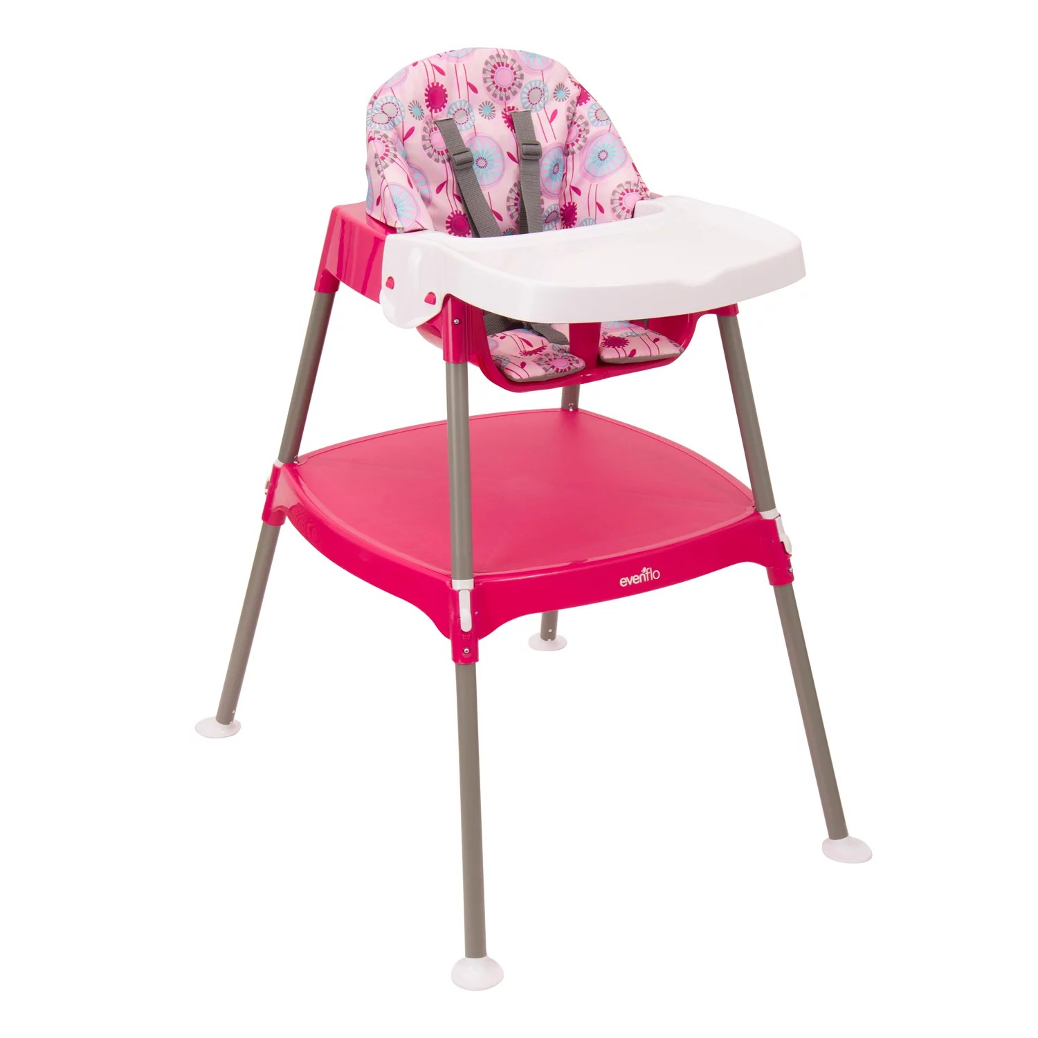evenflo easy fold high chair best chairs recliner convertible 3 in 1