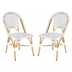 Safavieh Dining Chairs Folding Camping With Canopy Grey Furniture Kohl S 2 Pc Salcha Stackable Chair Set Indoor Outdoor