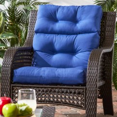 Kohls Outdoor Chair Cushions Antique Swivel Mechanism Blue Patio Solid Decorative Pillows Pads Home Decor Kohl S Greendale Fashions High Back Cushion