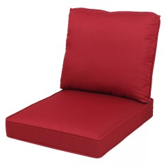 Patio Chair Pads Booster For Toddler Red Cushions Decorative Pillows Sonoma Goods Life Presidio 2 Pc Seat Cushion Set