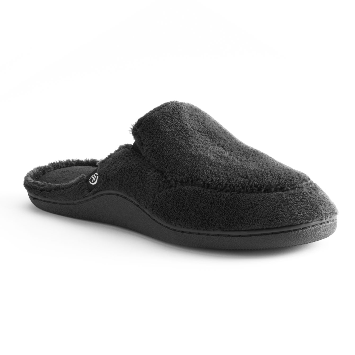 also isotoner men   microterry clog slippers rh kohls