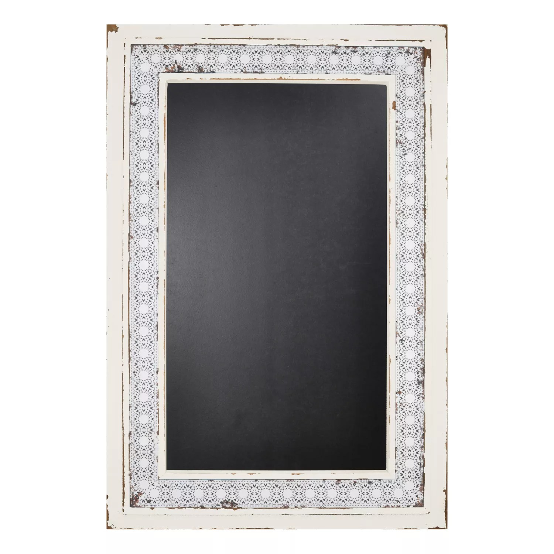 Home Lace Framed Chalkboard Wall Decor