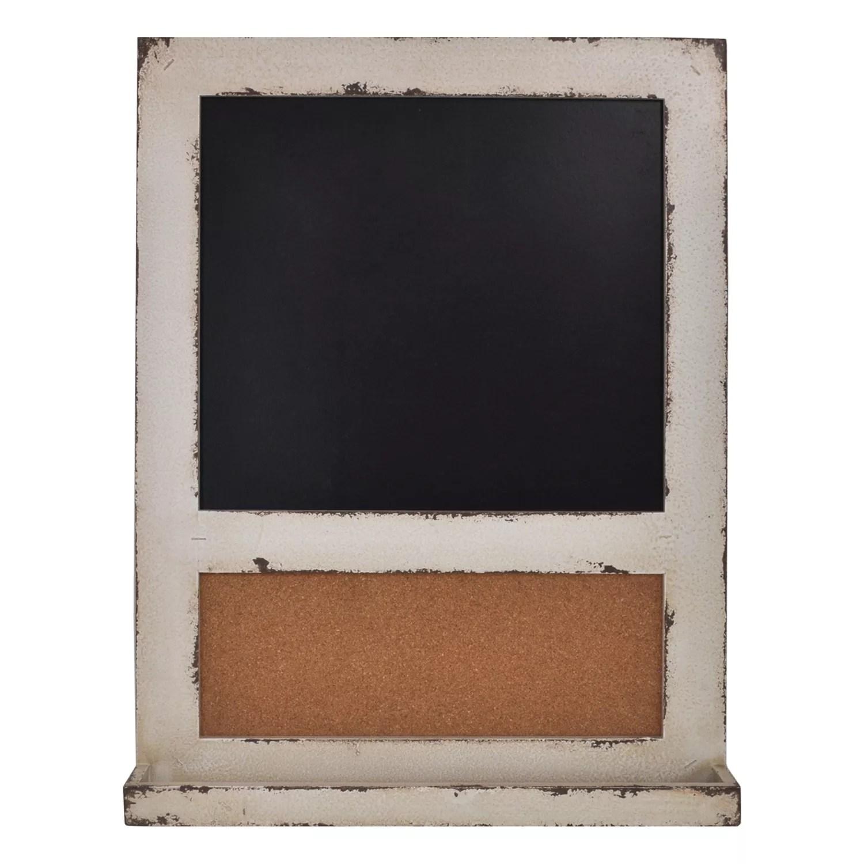 Sheffield Home Framed Chalkboard And Cork Board Wall Décor