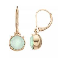Dana Buchman Circle Drop Earrings | DealTrend