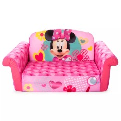 Disney Flip Open Sofa Bed 5 Seater Wooden Designs Mickey Mouse Friends Minnie Marshmallow 2 In 1 Kids By Spin Master