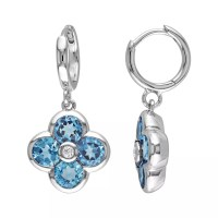 Topaz Gemstone Earrings | Kohl's