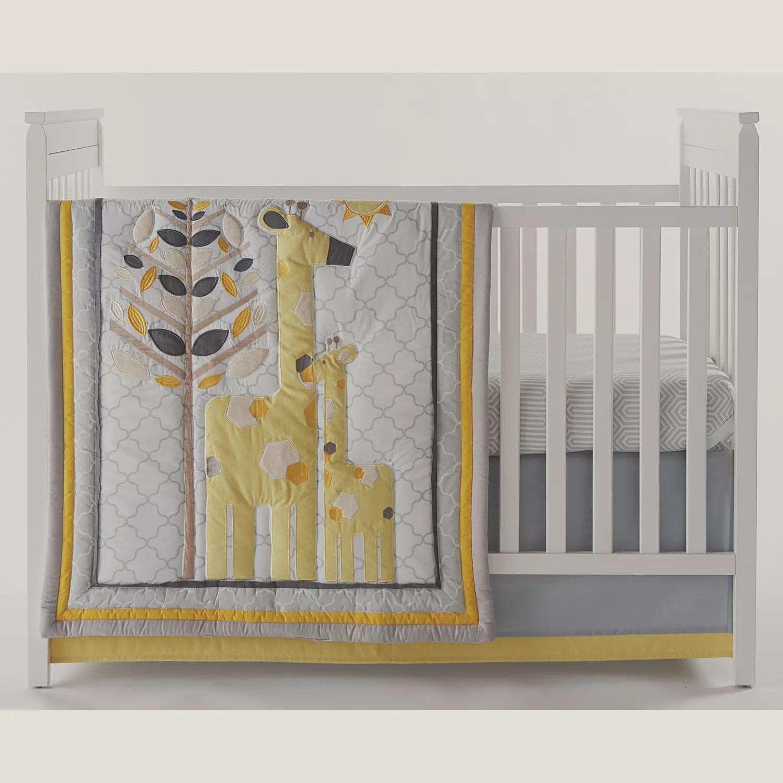 Happy Chic By Jonathan Adler Safari Giraffe 4 Pc Crib
