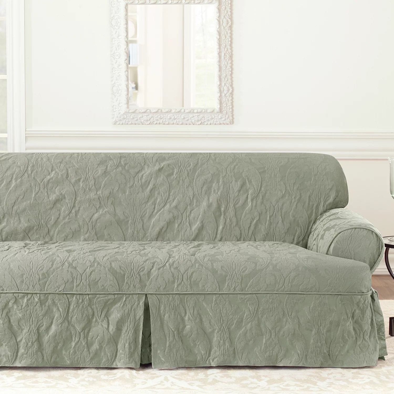 white chair slipcover t cushion patio rocking canada slipcovers kohl s sure fit matelasse damask sofa