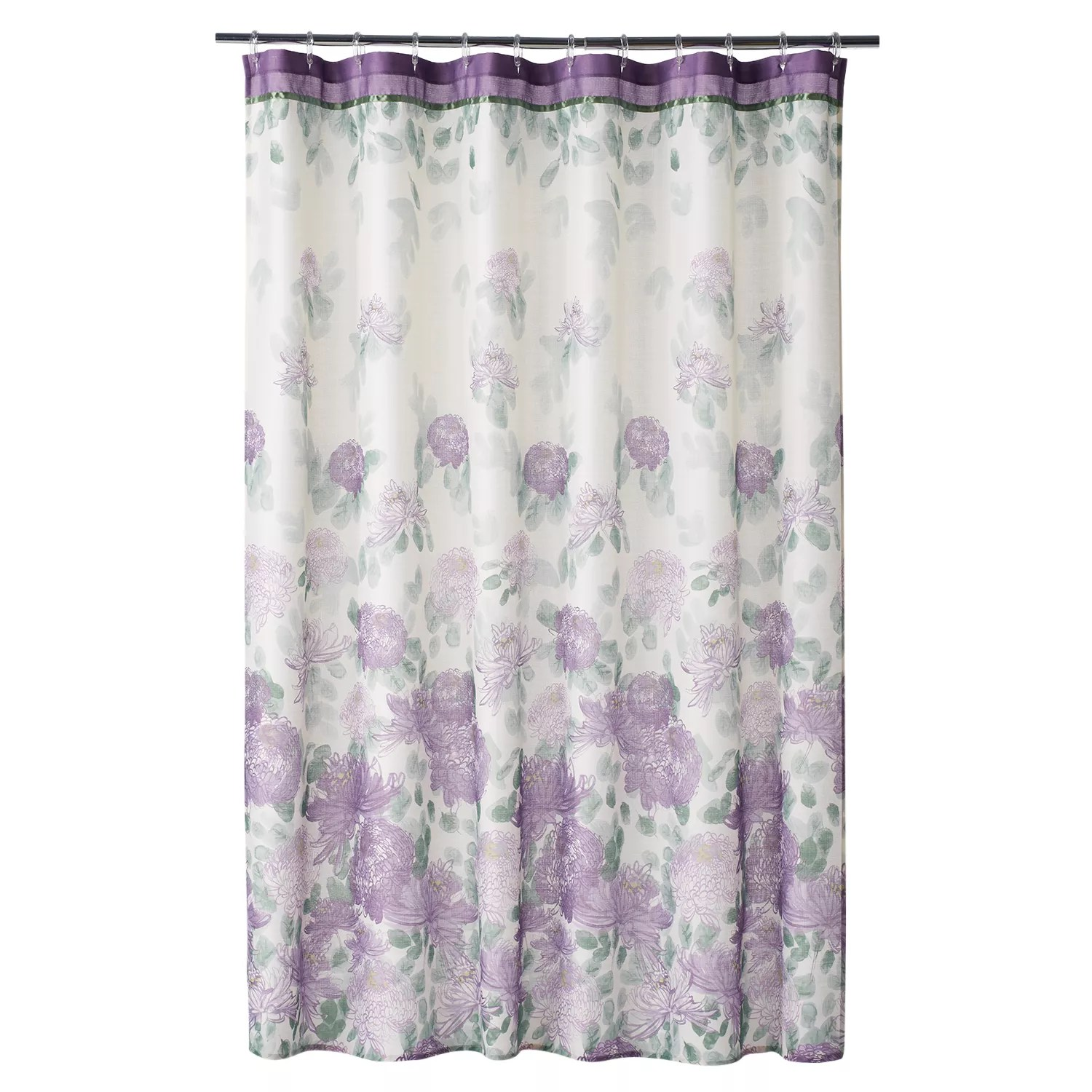small kitchen appliances stand alone cabinets best deals home classics® francesca fabric shower curtain