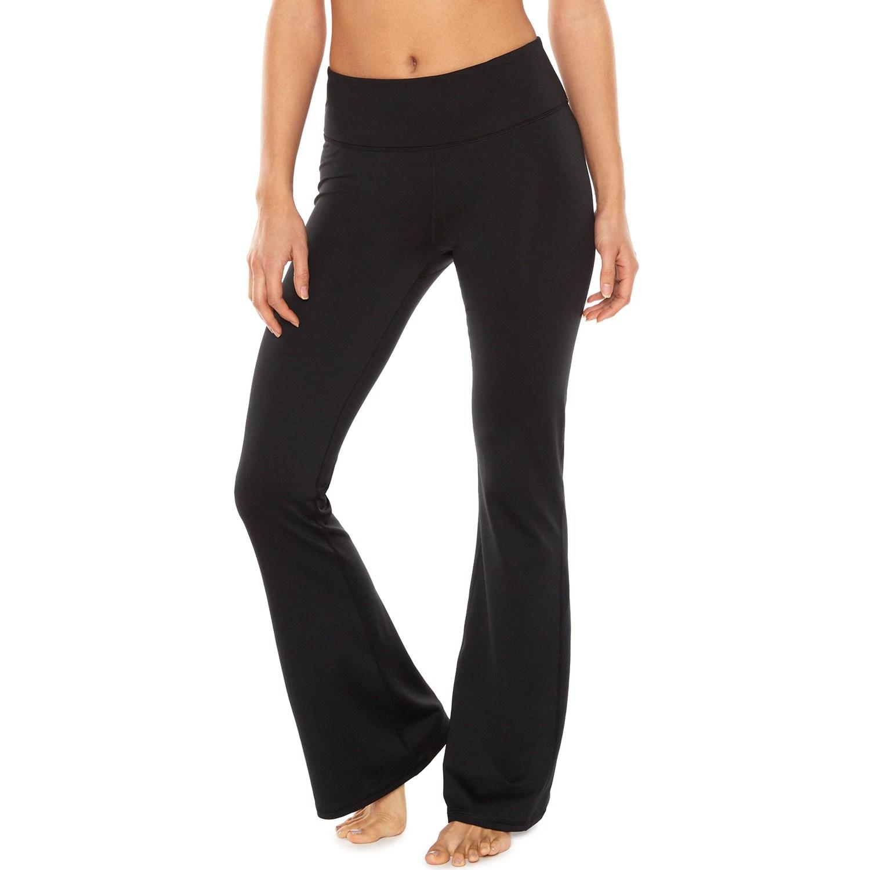 Womens Gaiam Zen Bootcut Yoga Pants