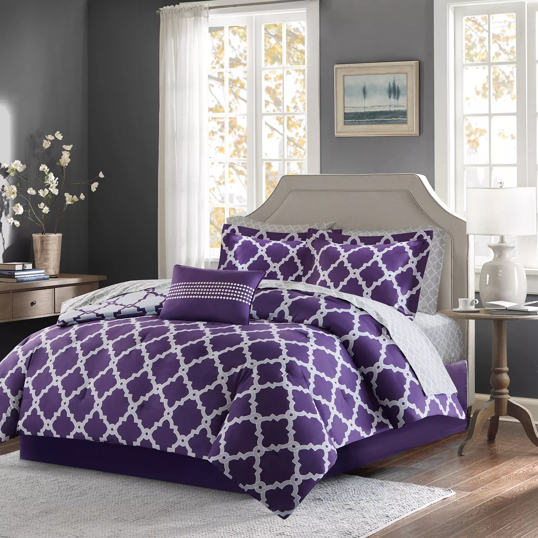 purple comforters comforter sets kohl s