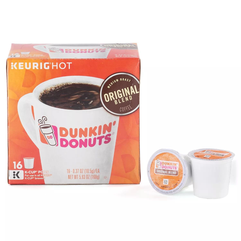 Keurig KCup Portion Pack Dunkin Donuts Original Blend