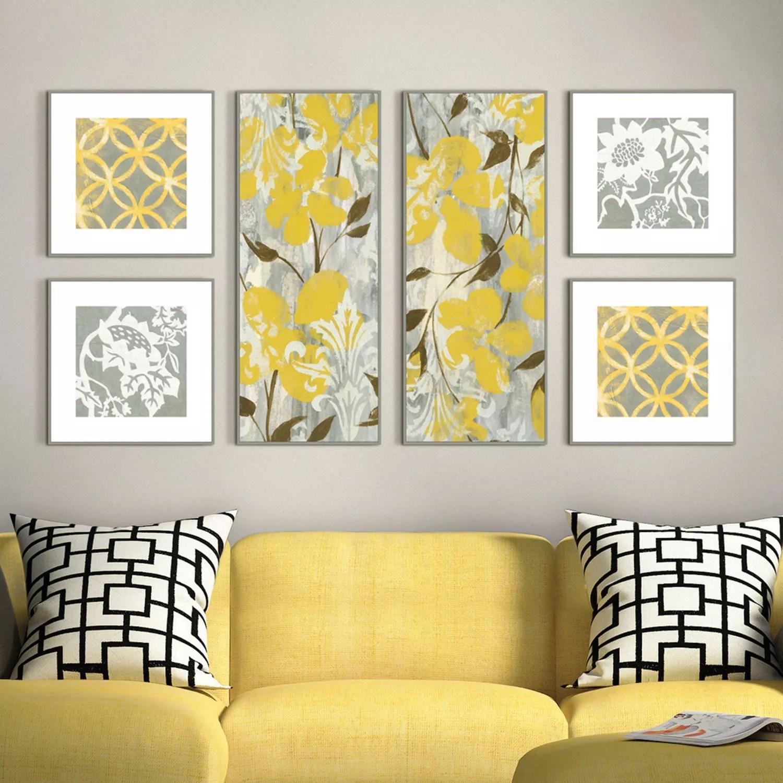Buttercups Botanical Piece Framed Wall Art Set Null   iltribuno.com