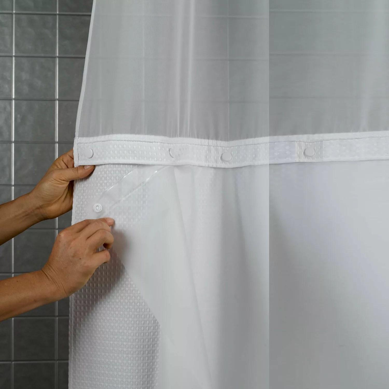 PEVA Shower Curtain Liner