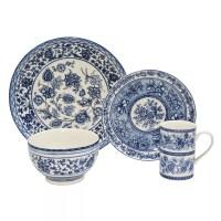 22 Fifth Dinnerware & 222 Fifth Blue Dynasty 16-pc ...