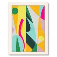 Framed Geometric Wall Art   Kohl's