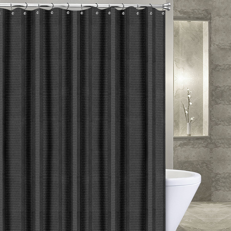 Black Shower Curtains Bathroom Bed & Bath Kohl's