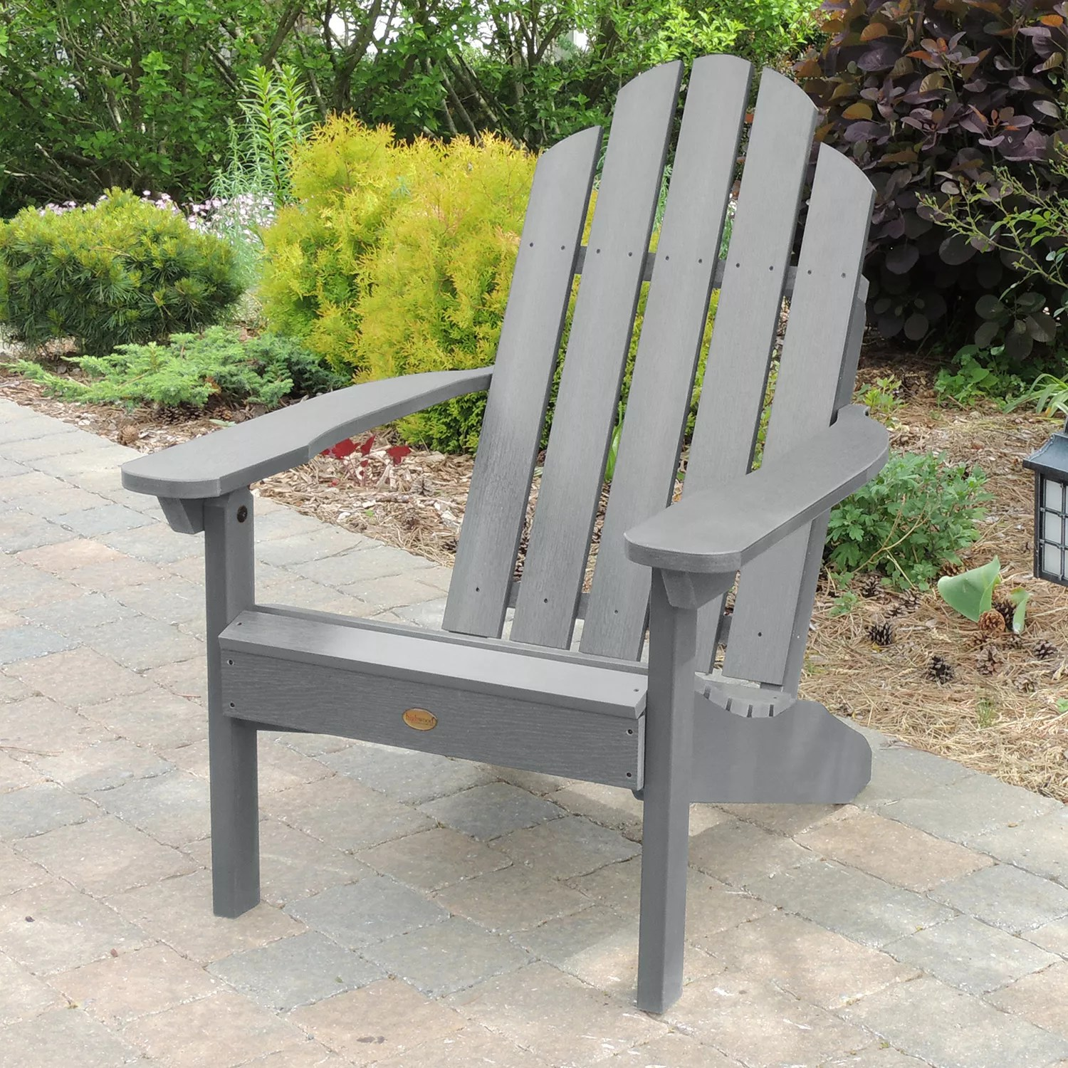 highwood adirondack chair seat cushion patio chairs furniture kohl s classic westport