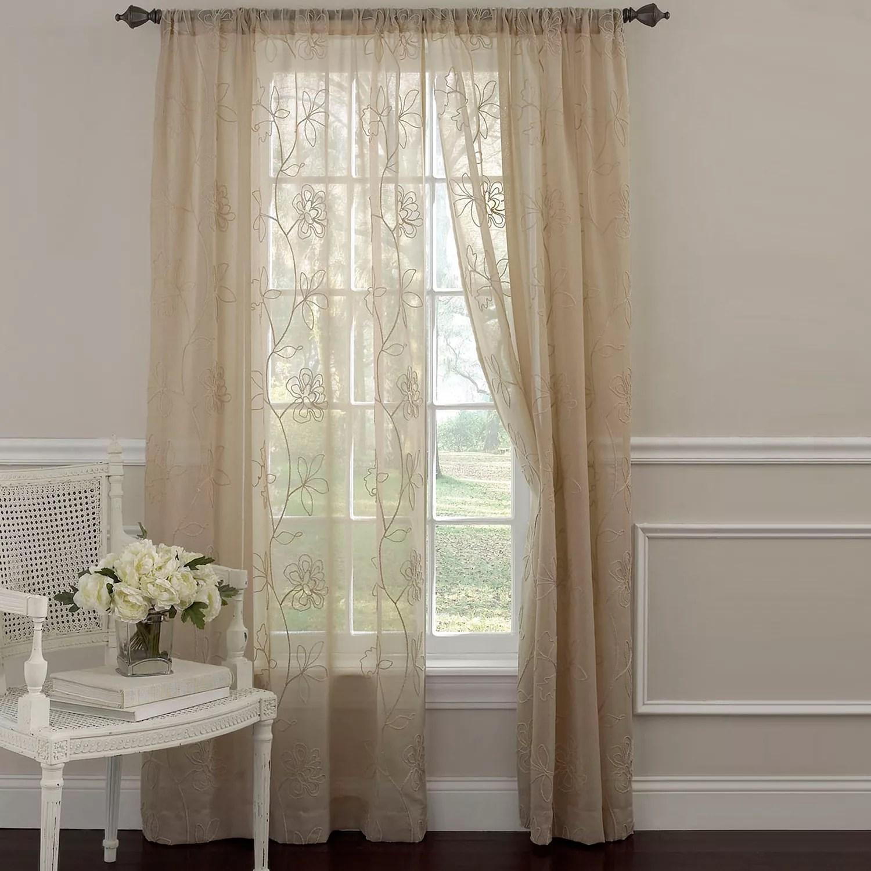 Laura Ashley Sheer Curtains