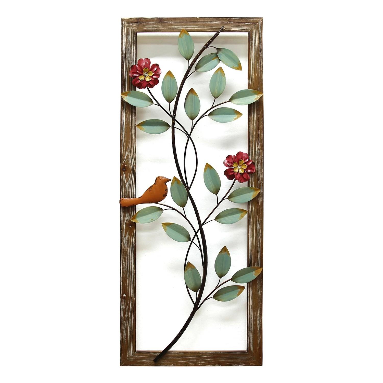 Stratton Home Decor Framed Birds I Wall Art