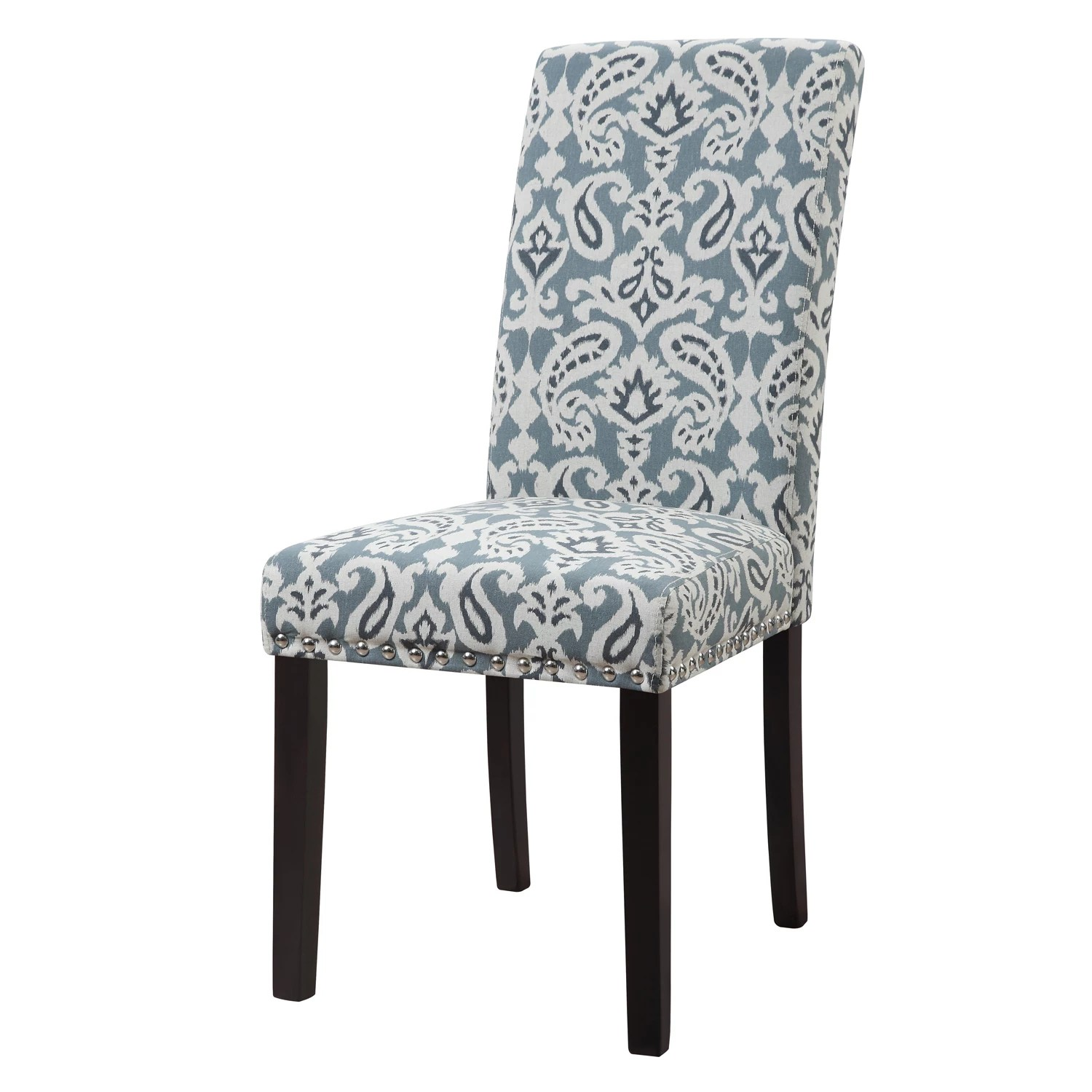 parsons chairs montessori table and blue kohl s harper dining chair