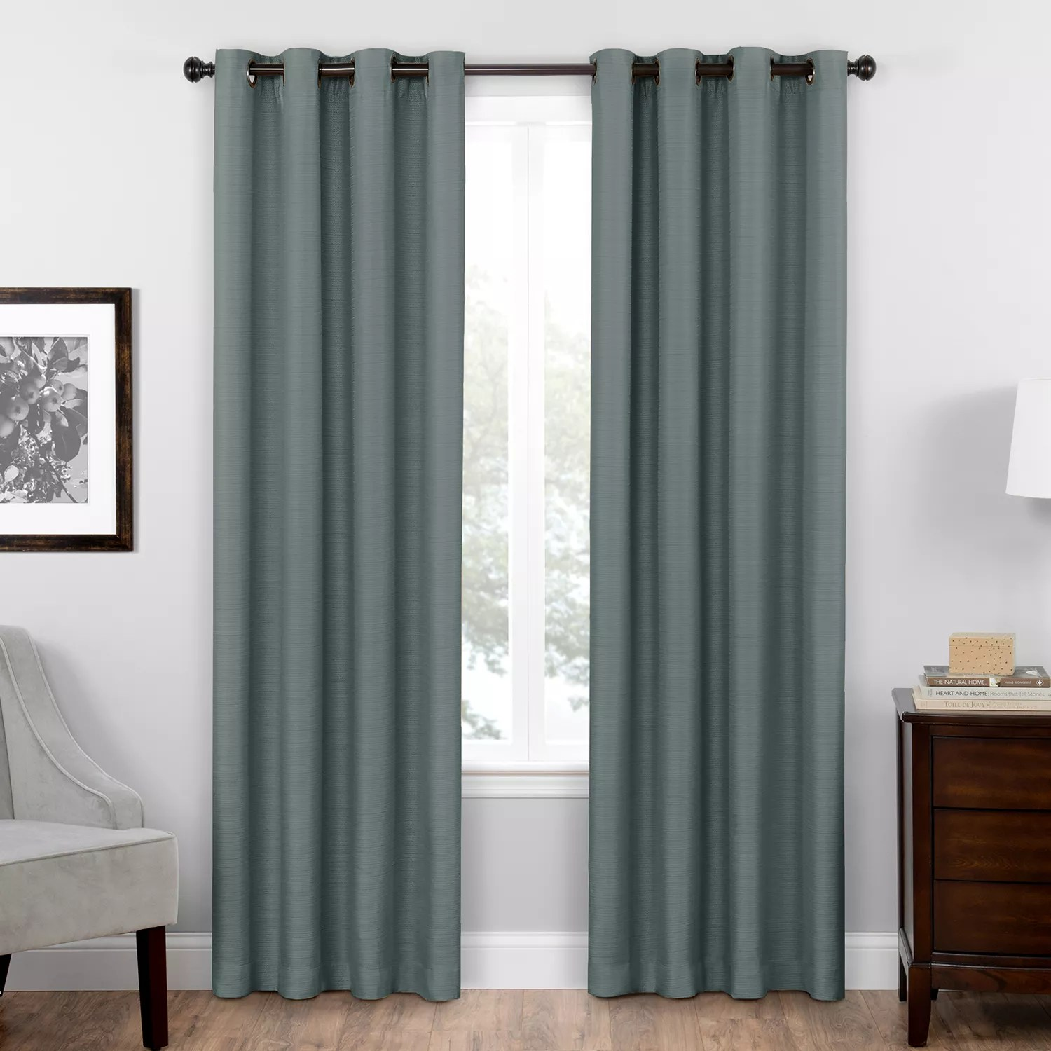kitchen curtains kohls how to build a cabinet blue drapes window treatments kohl s eclipse thermaweave blackout 1 panel bryson curtain
