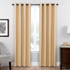 Kitchen Curtains Kohls Cups White Drapes Window Treatments Home Decor Kohl S Eclipse Thermaweave Blackout 1 Panel Bryson Curtain